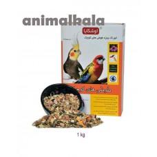 غذای ویژه طوطی های کوچک اوشکایا (عروس هلندی،رزیلا، طوطی برزیلی)