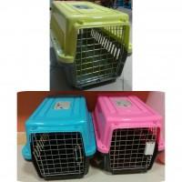 باکس سگ و گربه  سایز متوسط درب فلزی