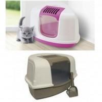 توالت گربه مسقف savic فیلتر دار