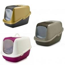 توالت گربه savic مسقف - ظرف خاک گربه