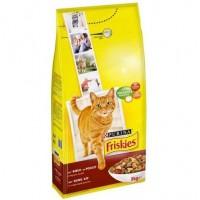 غذای خشک گربه بالغ با طعم گوشت و جگر Friskies