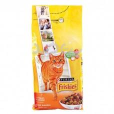 غذای خشک گربه بالغ با طعم مرغ، بوقلمون، اردک Friskies