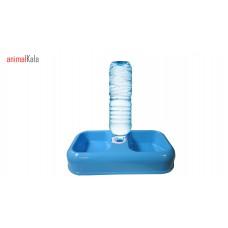 ظرف آب و غذای  مخزن دار پلاستیکی رنگ متمایز