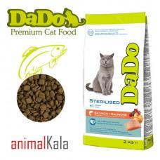 غذای گربه بالغ عقیم شده – DADO