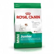 غذای خشک سگ رویال کنین مخصوص سگ کمتر از 10 ماه mini junior  با وزن  2 کیلوگرم